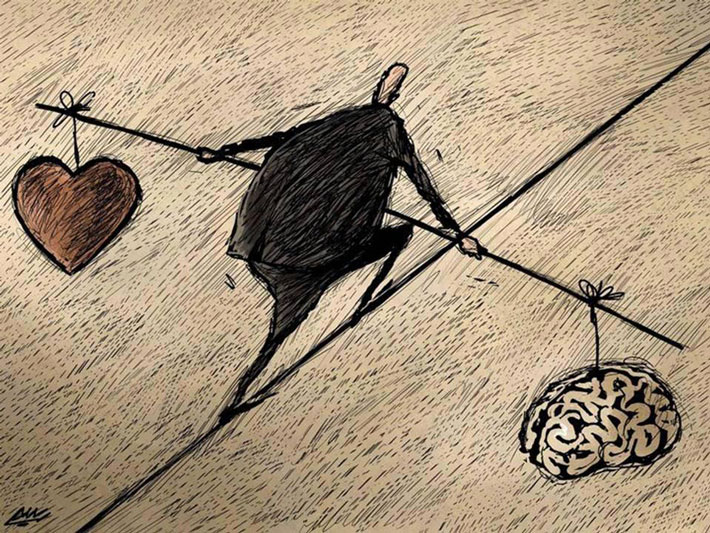 رهایی ذهن از احساسات