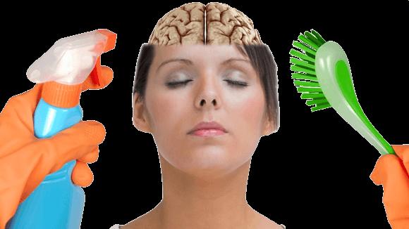 به این روش افکار خود را پاکسازی کنید brainclear