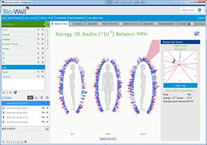عکسبرداری از چاکرا و هاله انرژی بدن biowellsoft